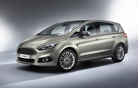 Uusi Ford S-MAX