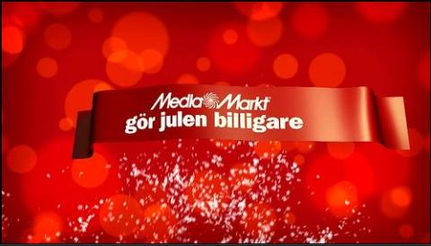 Nu drar Media Markt igång sin julkampanj med årets bästa erbjudande!