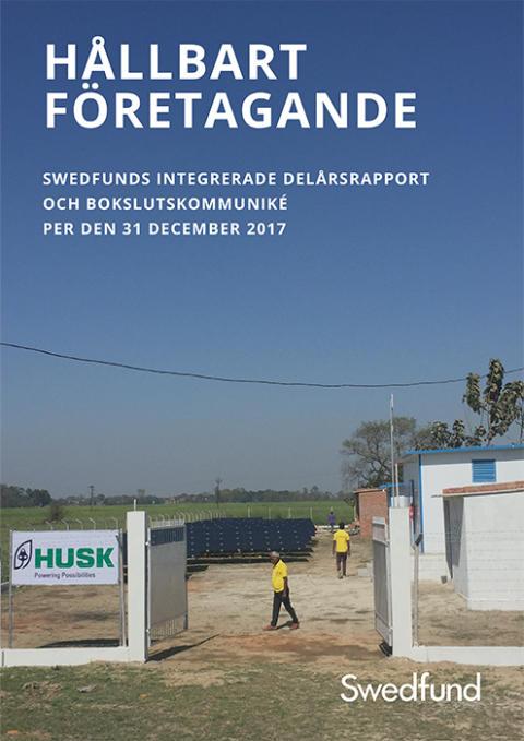 Swedfunds Integrerade delårsrapport och bokslutskommuniké december 2017