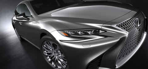Nya Lexus LS 500 omdefinierar begreppet premiumsedan