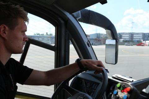 Ola Martinsen - brannmann ved OSL