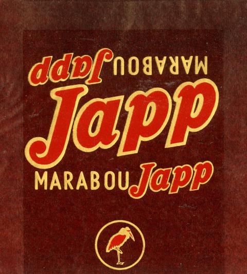 Japp-förpackning, 1949