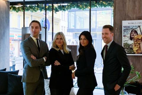 Eklund Stockholm New York värvar fyra toppmäklare i Stockholm