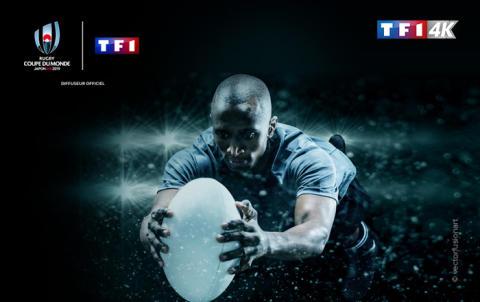 Rentrée musclée pour TF1 4K sur FRANSAT avec l'intégralité de la Coupe du Monde de Rugby 2019TM disponible en direct et en Ultra HD !