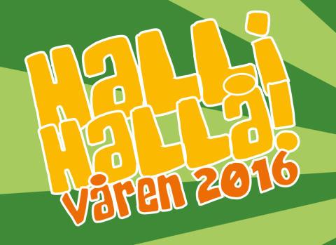 Pressinbjudan: Halli Hallå våren 2016!