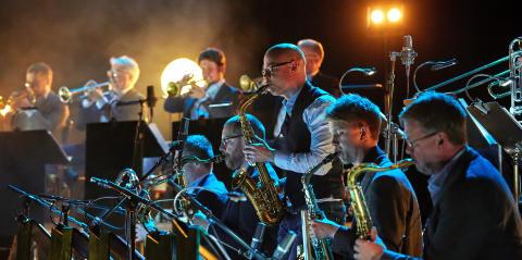 Bohuslän Big Band på turné med kammarkör