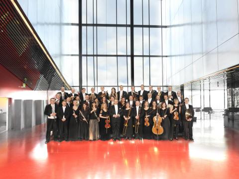 Uppsala Kammarorkester spelar Mozart i Vara