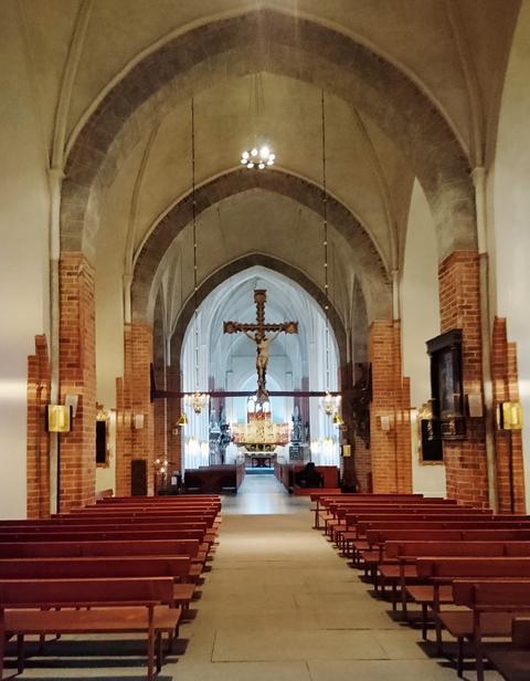 Katedralens mäktiga 1400-talsgotik i Västerås. Fotograf: Stefan Holm/Depositphotos.com.