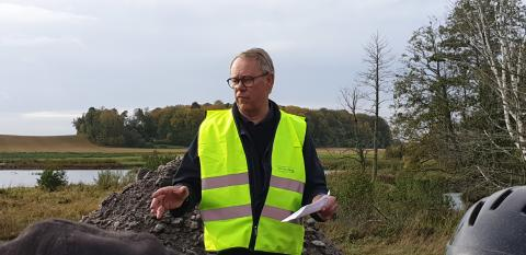 Sture Nilsson (M) invigningstalar