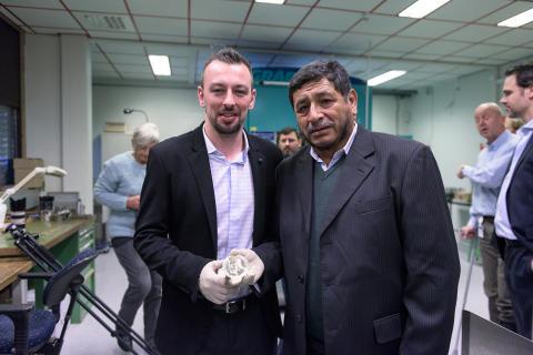 Kenneth Porter och Manuel Reinoso