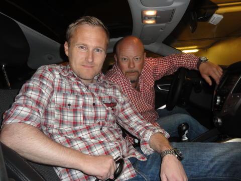 Vakle Hjulbrandsen og Geir Mustangskogen stiller lag i årets Zero Rally