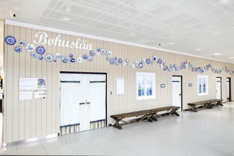 Hyllning till Bohuslän invigs på Landvetter