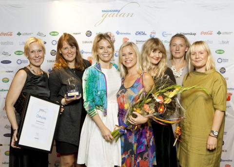 Tidningen Mersmak, vinnare av Årets Matinspiration på Dagligvarugalan 2013. Foto: Fri Köpenskap