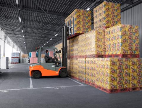 Toyota Material Handling Finland Oy - Toyota Traigo 80-mallisto laajenee nostokyvyltään viiteen tonniin saakka