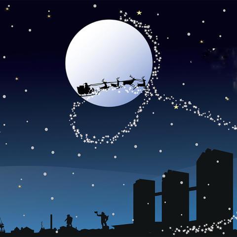 Gothia Towers skrudar om till jul