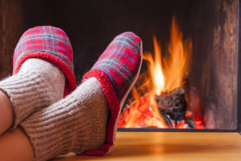 Winterfußpflege: Naturheizwerk gegen kalte Füße