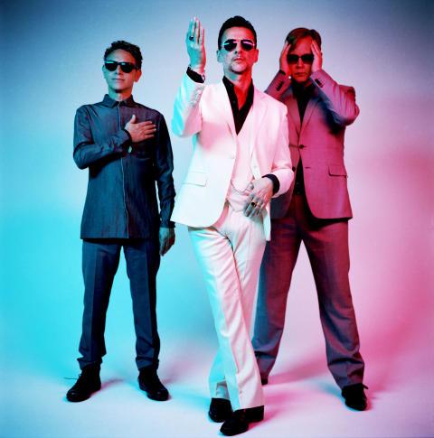 Depeche Mode lanseringsevent i Wien den 24 mars