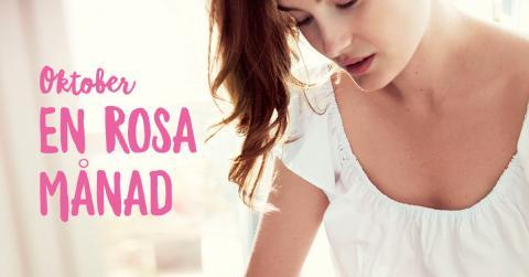 Kronans Apotek stödjer Bröstcancerförbundets kampanj Rosa Oktober