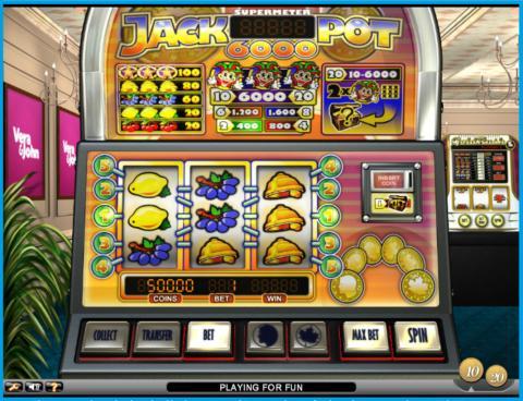 Anne won €5,683 on classic slot Jackpot 6000 at Vera&John