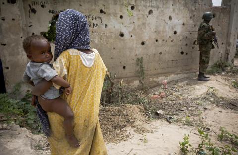 Allt fler barn dödas och skadas i Somalia