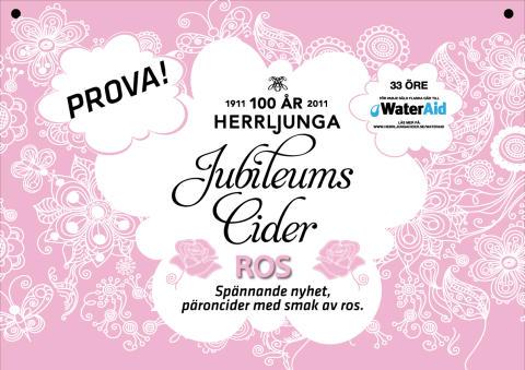 Herrljunga Cider lanserar Jubileumscider!