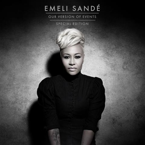 "Emeli Sandé - ""Our Version Of Events"" Special edition - Ny single ""Wonder"" - Koncert i Vega d. 12 marts"