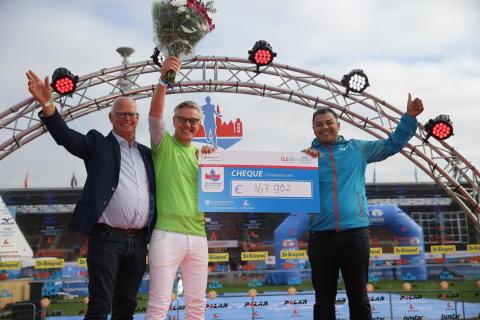 TCS Amsterdam Marathon haalt dit jaar € 167.982  op voor het Cancer Center Amsterdam