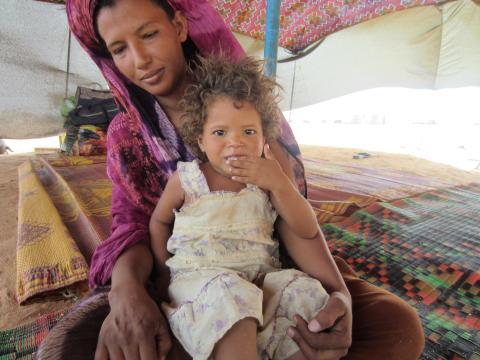 PMU bistår flyktingar från Mali i Mauretanien