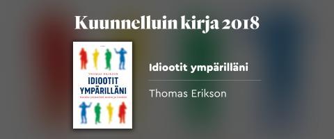 Kuunnelluin kirja BookBeatissa 2018
