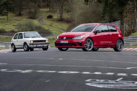 Golf GTI Clubsport S Nürburgring
