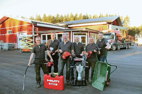 Hyr maskiner hos Hyrmaskiner i Gävle