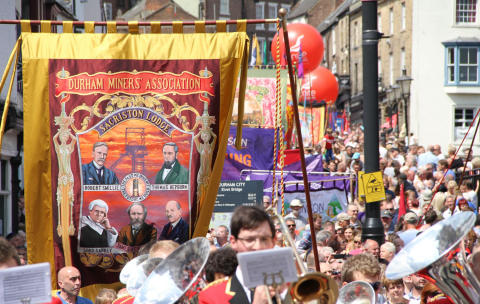 Durham Miners' Gala travel guide