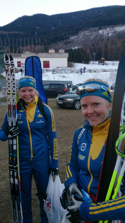 Anna Svedin-Thunström (till vänster) och Kim Adolfsson (till höger)