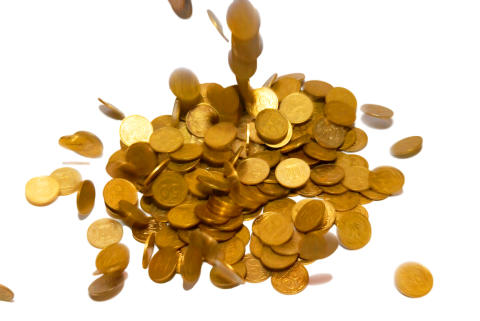 Kontante penge gaver