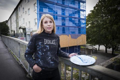 Välkommen till invigning av muralmålning i Rågsved!