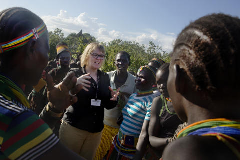 Karamoja i Uganda, 2016