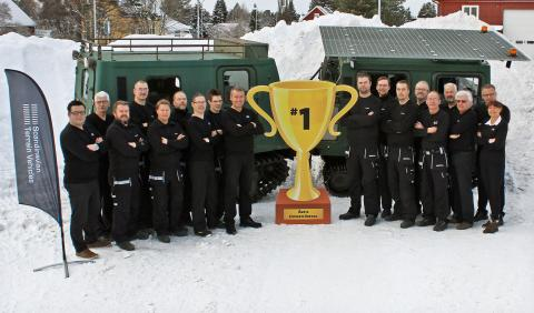 STV vinner priset som Årets Exportföretag