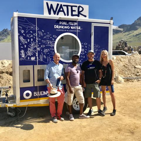 Sustainability Takes Giant Leap In South African Film Industry With Bluewater Trailers