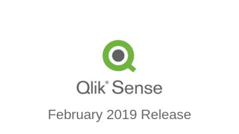 ​Make way for the Qlik Sense Enterprise February 2019 release