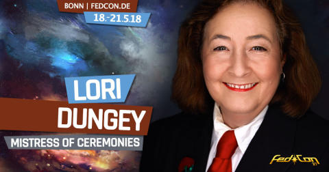 "FedCon 2018: Lori Dungey ist die ""Mistress of Ceremonies"""