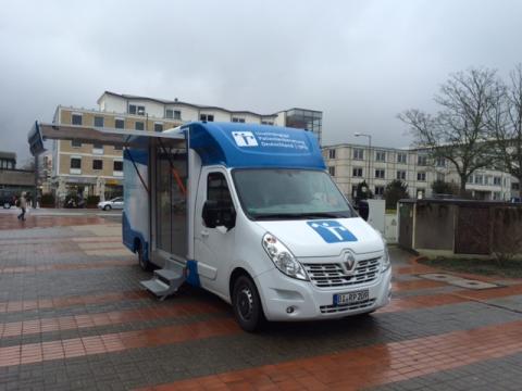 Beratungsmobil der Unabhängigen Patientenberatung kommt am 1. Februar nach Wolfsburg.