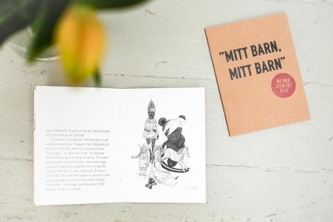 """Berättelsen """"Mitt barn mitt barn"""" är en berättelse av den svenska barnmorskan Astrid Börjesson som har jobbat på ett räddningsfratyg på Medelhavet under hösten."""