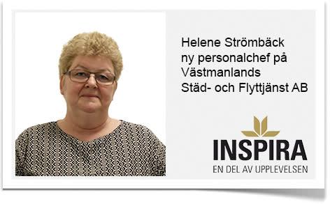 Ny Personalchef på Västmanlands Städ- och Flyttjänst AB