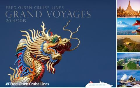 Take a 'Grand Voyage' in 2014/15 with Fred. Olsen Cruise Lines –  as seen on TV!