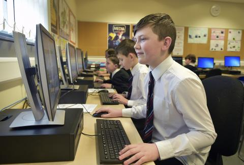 Renfrewshire schools coding clubs get a digital boost from BT