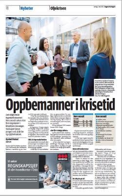 Norconsult omtalt i Dagens Næringsliv 07.05.2016