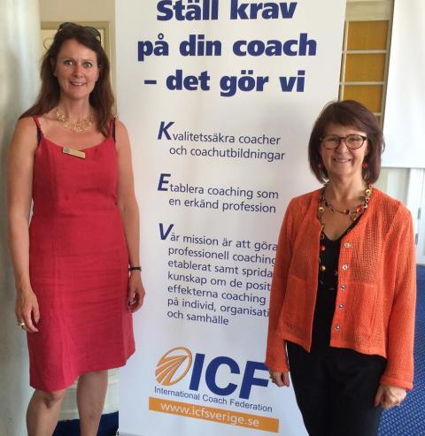 Rotary får besök av coacher