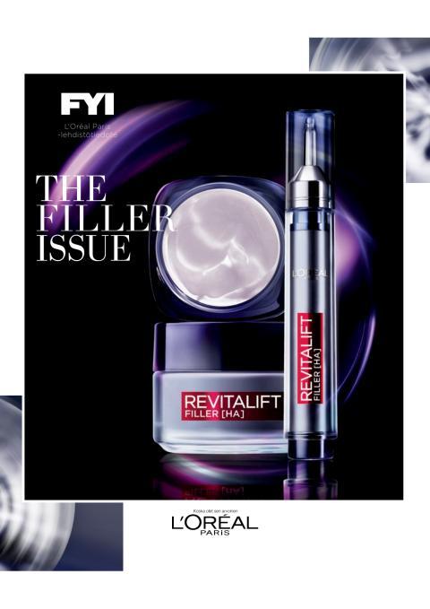 L'Oréal Paris Revitalift Filler anti-age-voide ja seerumi