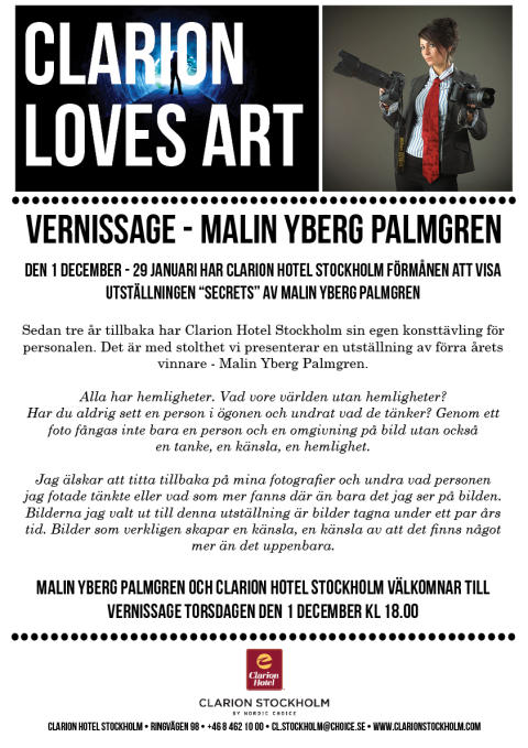 Vernissage Malin Yberg Palmgren