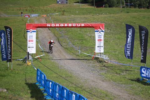 Scandinavian downhill hafjell målgang k-senior